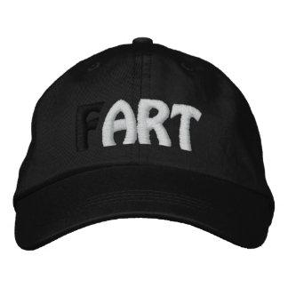 (F)ART - Ladies Black Hat Girls Cap Embroidered Hats