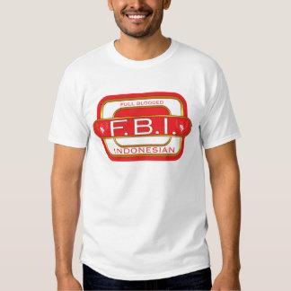 F B I Indonesian Shirts