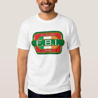 F B I Irish Tees