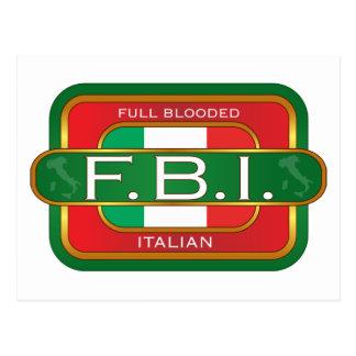 F B Italian Postcard