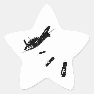 F-Bomb Diver (Black) Star Sticker