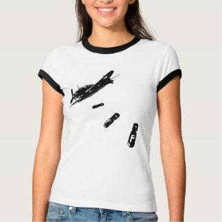 F-Bomb Diver (Black) T-Shirt