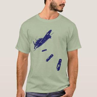 F-Bomb Diver (Blue) T-Shirt