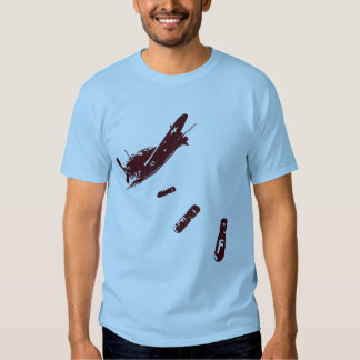 F-Bomb Diver (Maroon) Tshirts