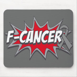 F-Brain Cancer Mousepads