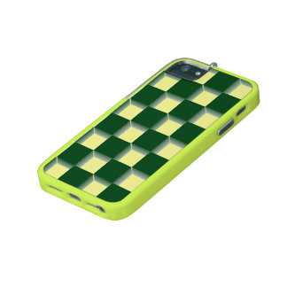 F British Racing Green and Yellow GT 500 iPhone iPhone 5/5S Cover