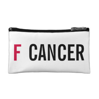F CANCER COSMETICS BAGS