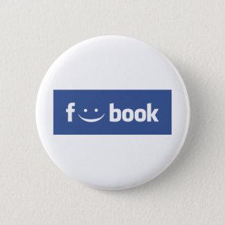 F:)cebook !!! 6 cm round badge