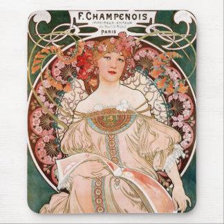 F. Champenois Imprimeur Editeur Mouse Mat