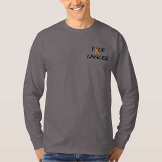 F*ck Cancer Orange Awareness Ribbon T-Shirt