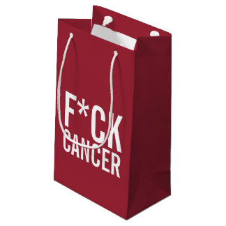 F*CK CANCER SMALL GIFT BAG