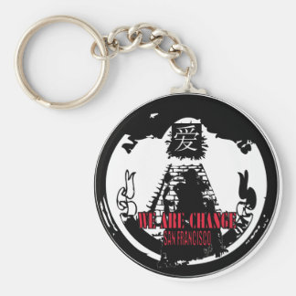 F*CK THE NWO San Francisco WAC Basic Round Button Key Ring