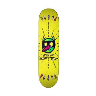 F@ck you! skate deck