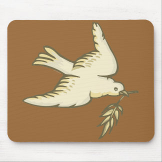 F - Dove of Peace Mousepad