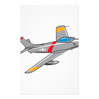 F Eighty Six Sabre Jet Stationery