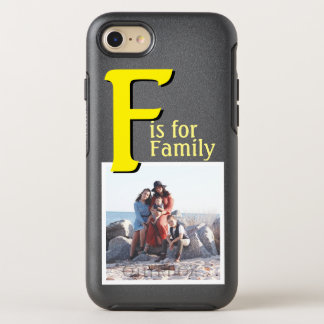 F for Family OtterBox Symmetry iPhone 8/7 Case