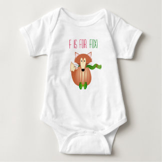 F for Fox Babygrow Baby Bodysuit