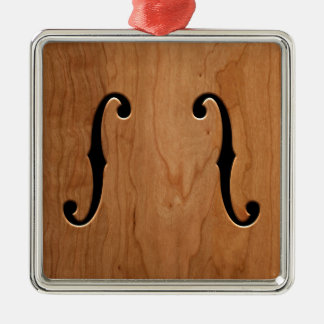 F-Holes -wg Christmas Ornament