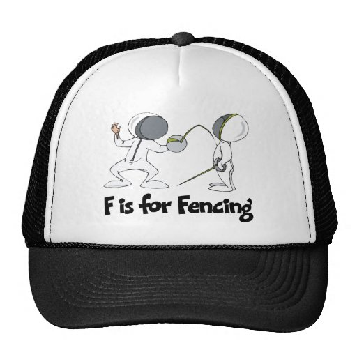 F is for Fencing Hat
