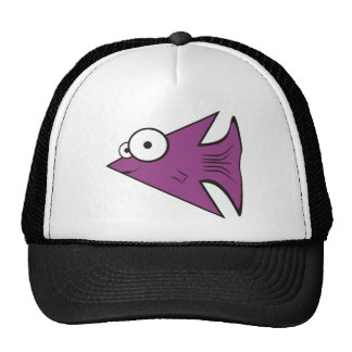 F is for Fishy! Mesh Hats