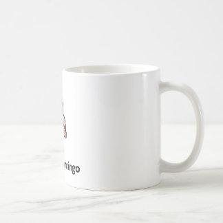 F Is For Flamingo Mug F is for Flamingo Basic White