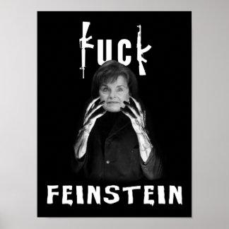"""F@#K Feinstein"" Poster"