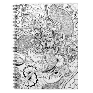 F*&k This S#^ Hidden Message Notebook