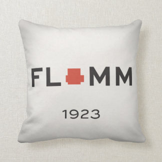 F L + M M 1923 with NEU Power Gib Throw Pillow