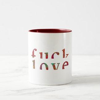 F Love Two-Tone Mug