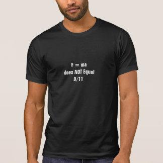 F=ma: T-Shirt (Black)