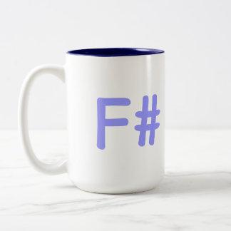 F#-mug Two-Tone Mug
