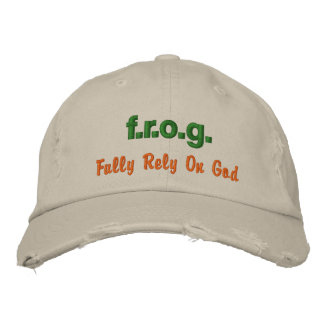 F.R.O.G. Embroidered Hat