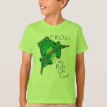 F.R.O.G. Fully Rely On God #1 Shirts