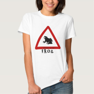 F.R.O.G. - Fully Rely on God - Sign T-shirts