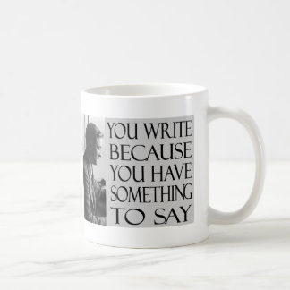 F. Scott Fitzgerald Cup Basic White Mug