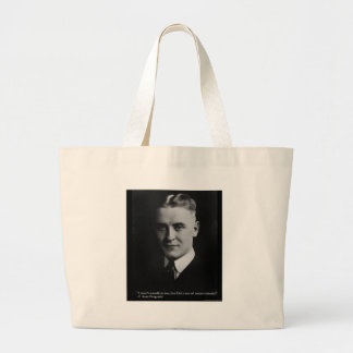 F Scott Fitzgerald Tender Curiosity Gifts & Tees Canvas Bag