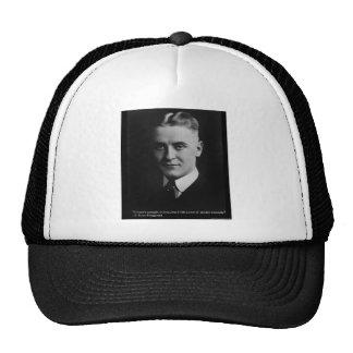 F Scott Fitzgerald Tender Curiosity Gifts & Tees Trucker Hat