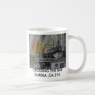 f street 023, CROSSING THE BAR EUREKA ,CA 210 Classic White Coffee Mug