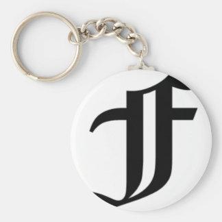 F-text Old English Key Ring