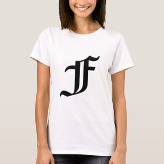 F-text Old English T-Shirt