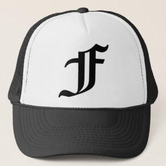 F-text Old English Trucker Hat