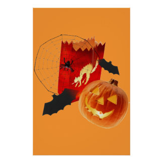 F�tons Halloween - Poster