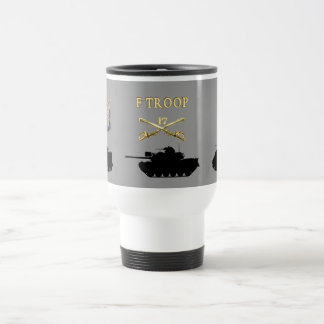 F Troop 17th Cavalry AFVs Mug