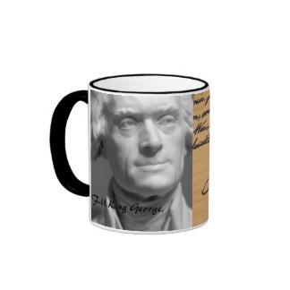 F-U King Geoorge Ringer Mug