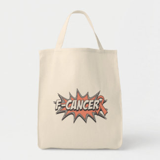 F-Uterine Cancer Tote Bags