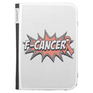 F-Uterine Cancer Kindle 3 Case