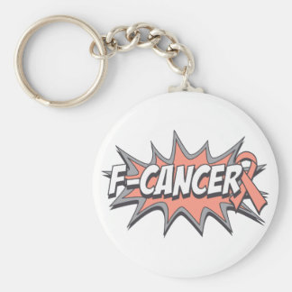 F-Uterine Cancer Keychain
