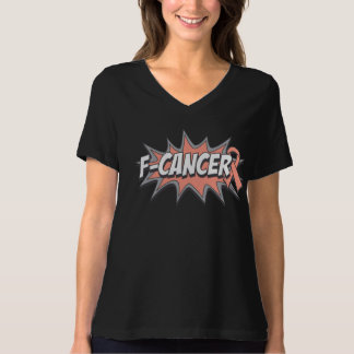F-Uterine Cancer T-shirts