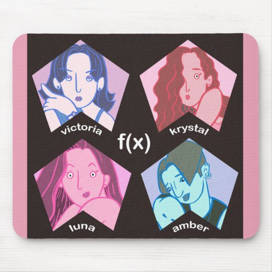 f(x) Group Character Mousepad