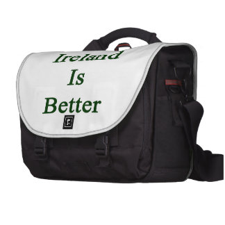 F You Ireland Is Better Laptop Bag
